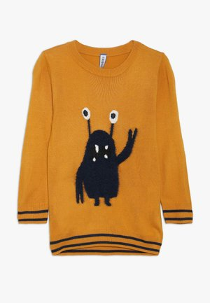 MONSTER JUMPER  - Svetr - sunflower