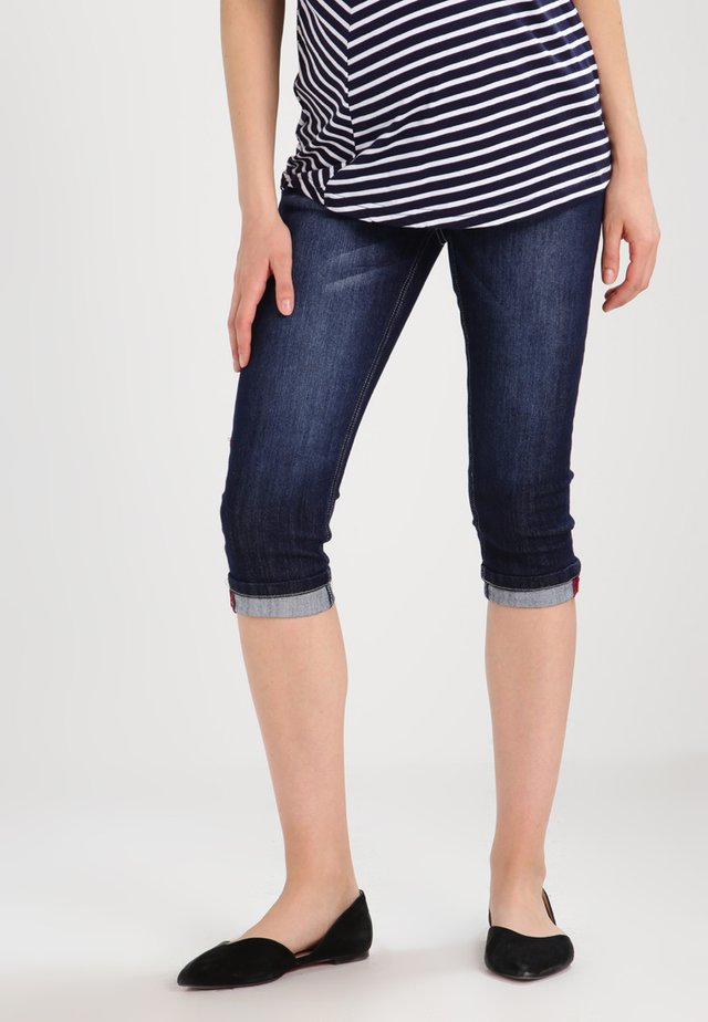 Shorts di jeans - indigo