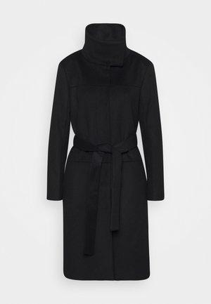 CORI - Classic coat - black