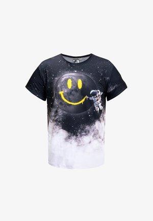 SPACE SMILE  - T-shirt print - black