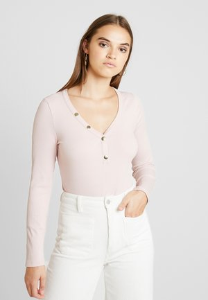 BODYSUIT - Long sleeved top - rose
