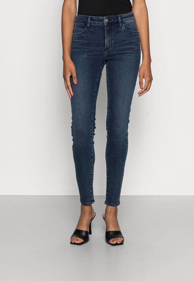 Wrangler - Jeans Skinny Fit - blue ink