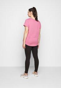 Zizzi - LONG - Leggings - Trousers - black - 2