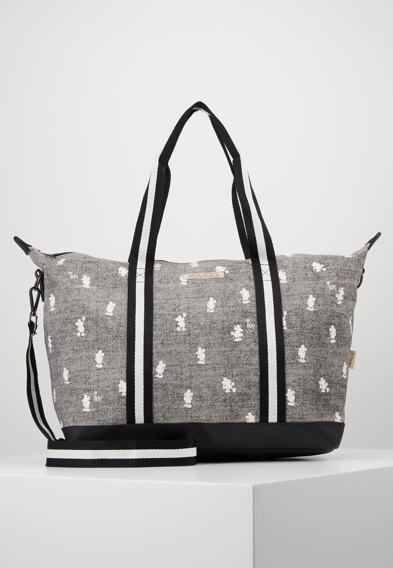 Kidzroom - SHOPPING BAG MICKEY MOUSE MY FAVOURITE MEMORIES - Baby changing bag - grey