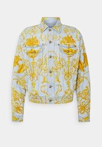 Versace Jeans Couture - COLUMBUS  - Džínová bunda - light blue - 5