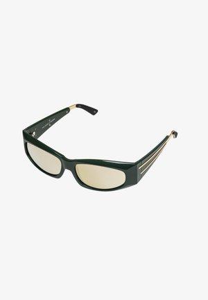 THE EDGE - Okulary przeciwsłoneczne - army green / gold