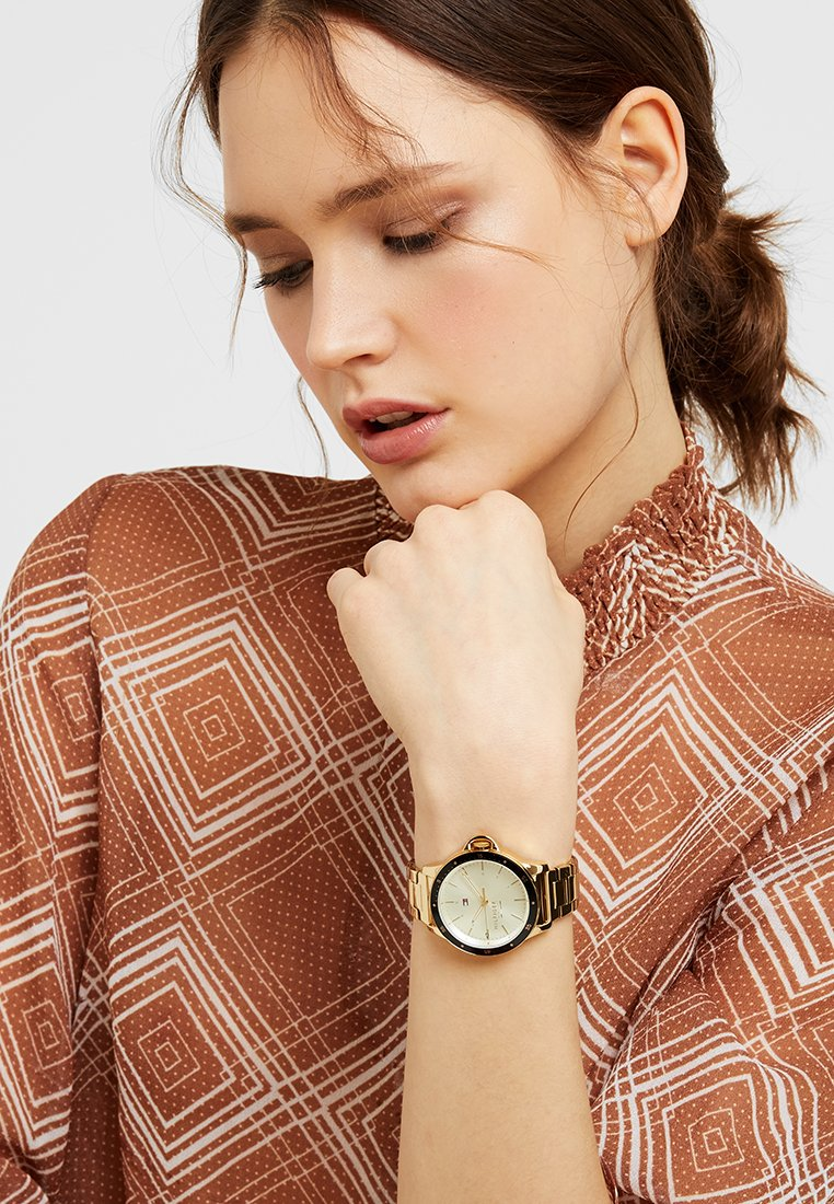 Tommy Hilfiger - LADIES DIVER - Hodinky - gold-coloured