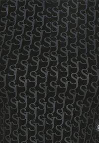 Sixth June - MONOGRAM CROP  - Top sdlouhým rukávem - black - 2