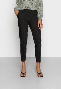 ONLY - ONLVERONICA PISA  CIGARET - Trousers - black - 0