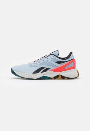 NANOFLEX TR - Sports shoes - gable grey/core black/neon cherry