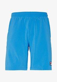 SANTANA - Pantalón corto de deporte - simply blue