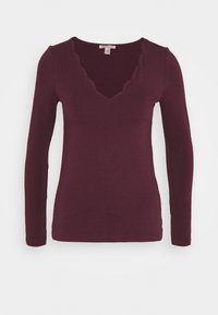 Anna Field - T-shirt à manches longues - dark red - 0