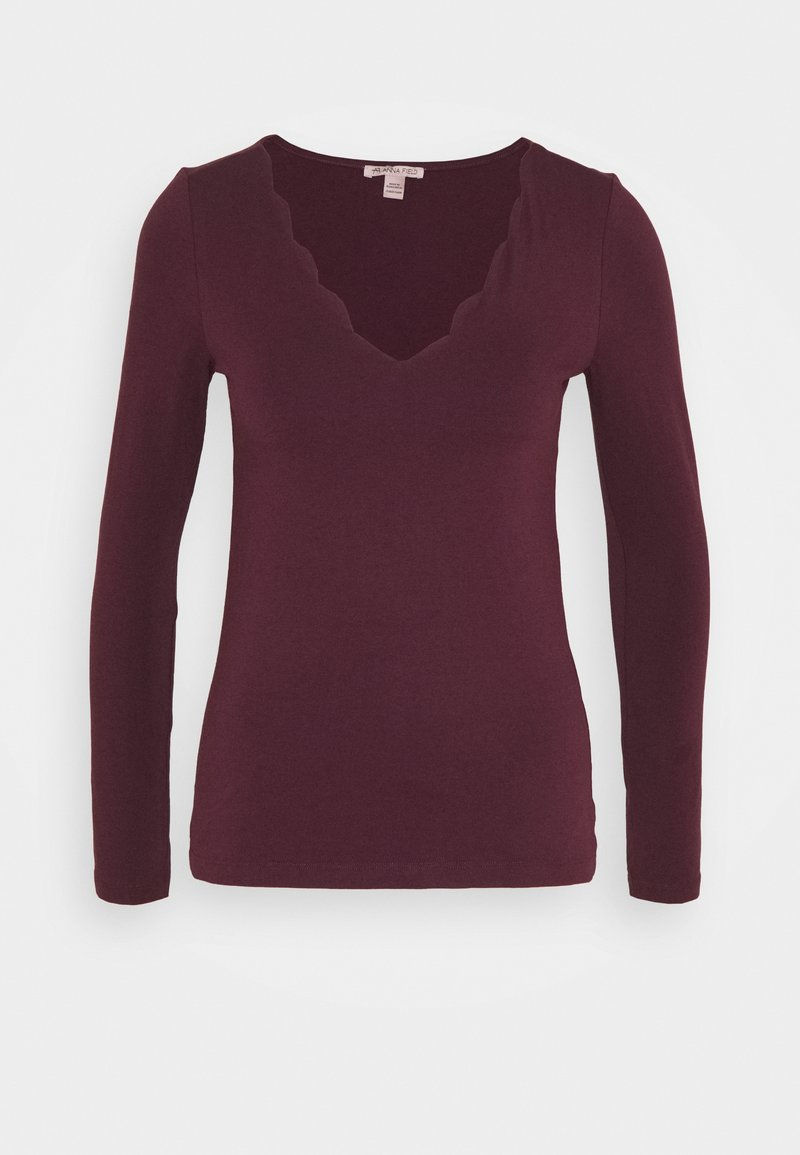 Anna Field - T-shirt à manches longues - dark red