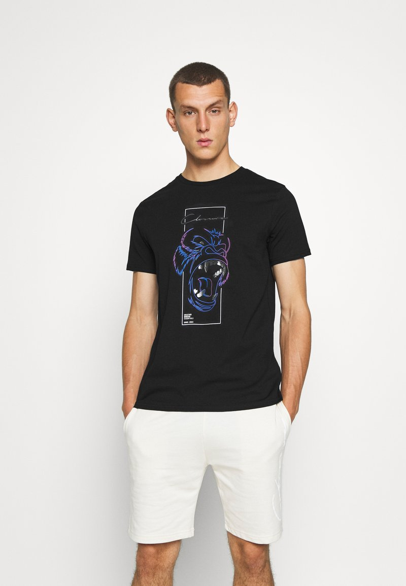 CLOSURE London - SCRIPT TEE - Triko s potiskem - black