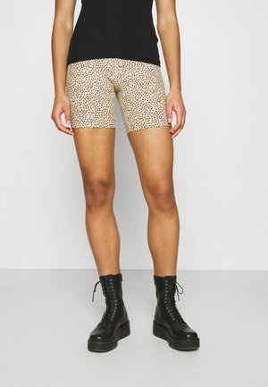 BIKE LIGHT LEOPARD - Shorts - camel