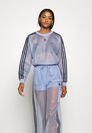 SPORTS INSPIRED JOGGER PANTS - Tracksuit bottoms - chalk blue