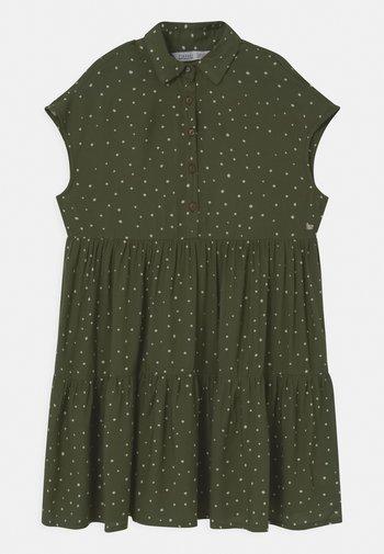 JEANES - Shirt dress - green