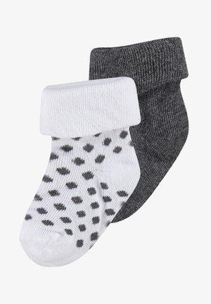 2ER PACK - Sokken - dark grey melange