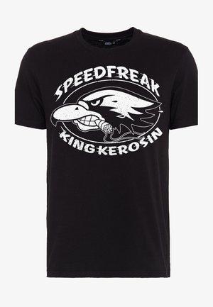MIT KULT-MOTIV SPEEDFREAK - T-shirt print - black
