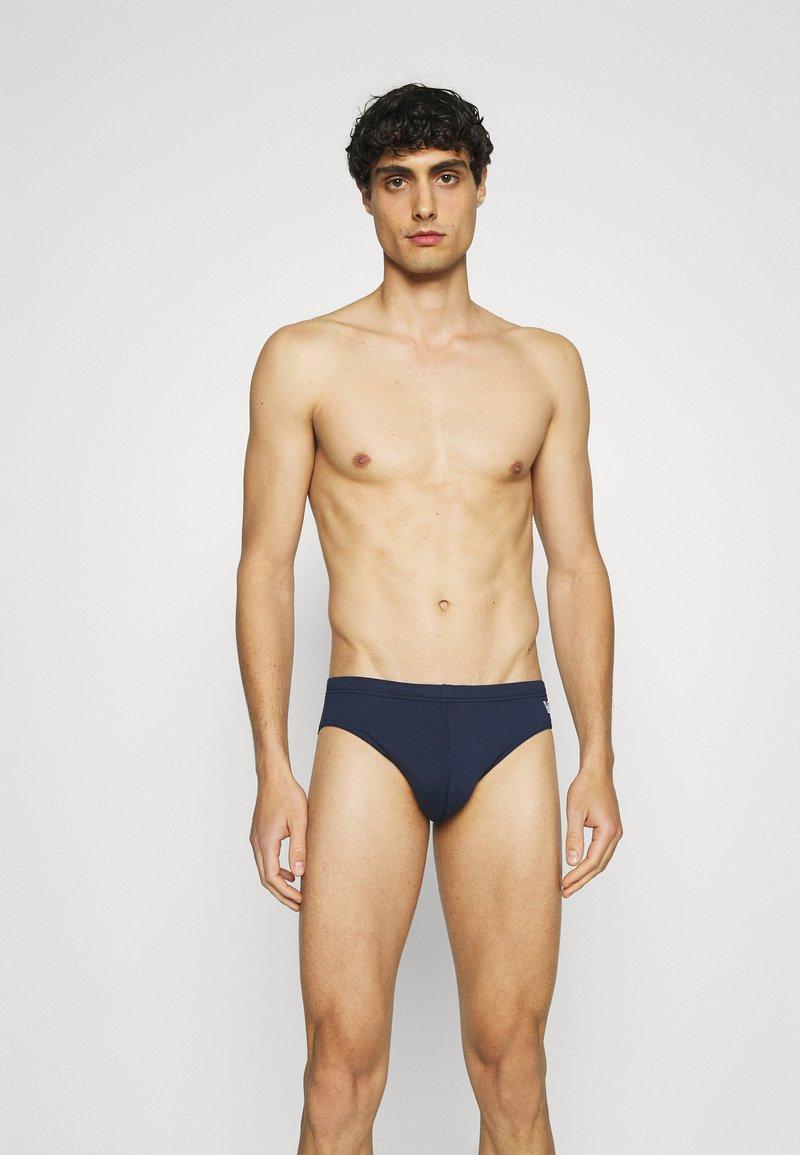 Emporio Armani - BRIEF - Swimming briefs - navy blue