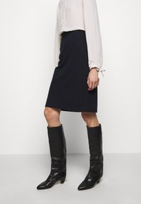 Filippa K - ESTHER SKIRT - A-line skirt - navy - 0