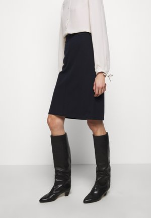 ESTHER SKIRT - Gonna a campana - navy