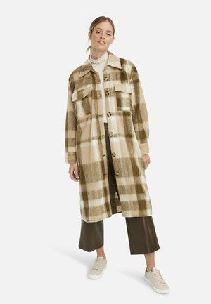 Classic coat - oliv print