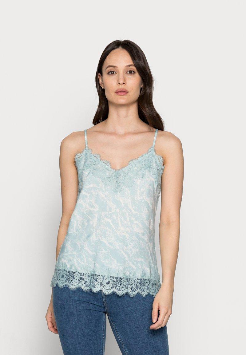 Rosemunde - Blouse - blue mint/ivory