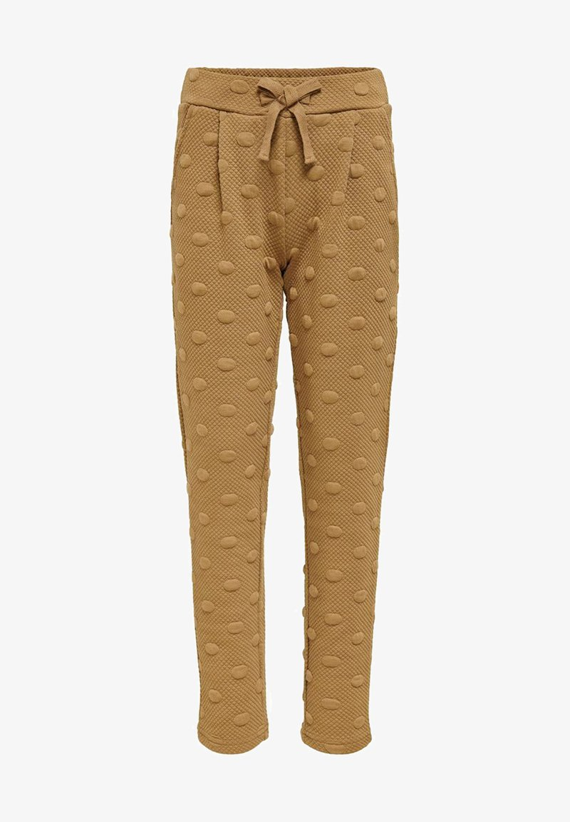 Kids ONLY - LOOSE FIT - Tracksuit bottoms - toasted coconut