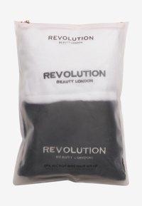 Revolution Haircare - HAIR2PK MICROFIBRE HAIR WRAP  - Hair set - black/white - 1