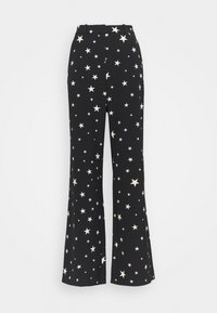 Fabienne Chapot - PUCK TROUSER - Trousers - black/warm white - 4