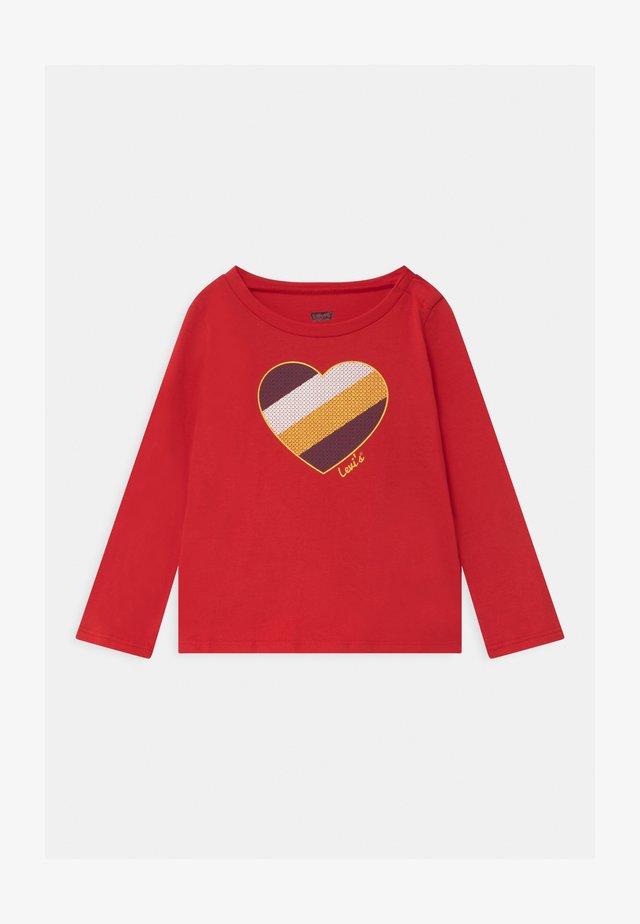 GRAPHIC - Maglietta a manica lunga - super red
