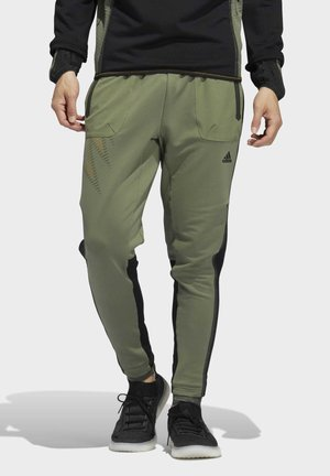 DESIGNED4TRAINING COLD.RDY SPORTS PANTS - Tracksuit bottoms - leggrn