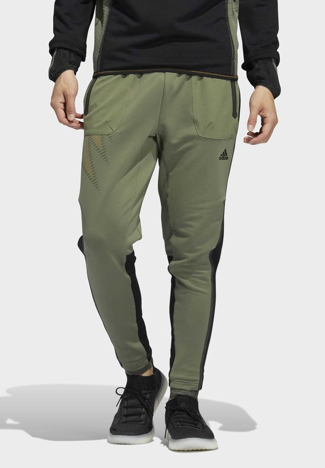 DESIGNED4TRAINING COLD.RDY SPORTS PANTS - Pantalon de survêtement - leggrn