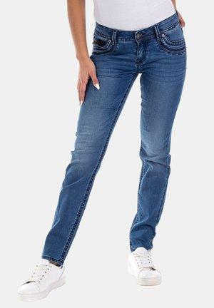 LUCI MIT PAILLETTEN - Slim fit jeans - blau
