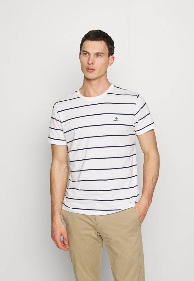BRETON STRIPE - T-shirt imprimé - eggshell