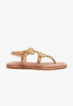 SYLVIA - T-bar sandals - pink