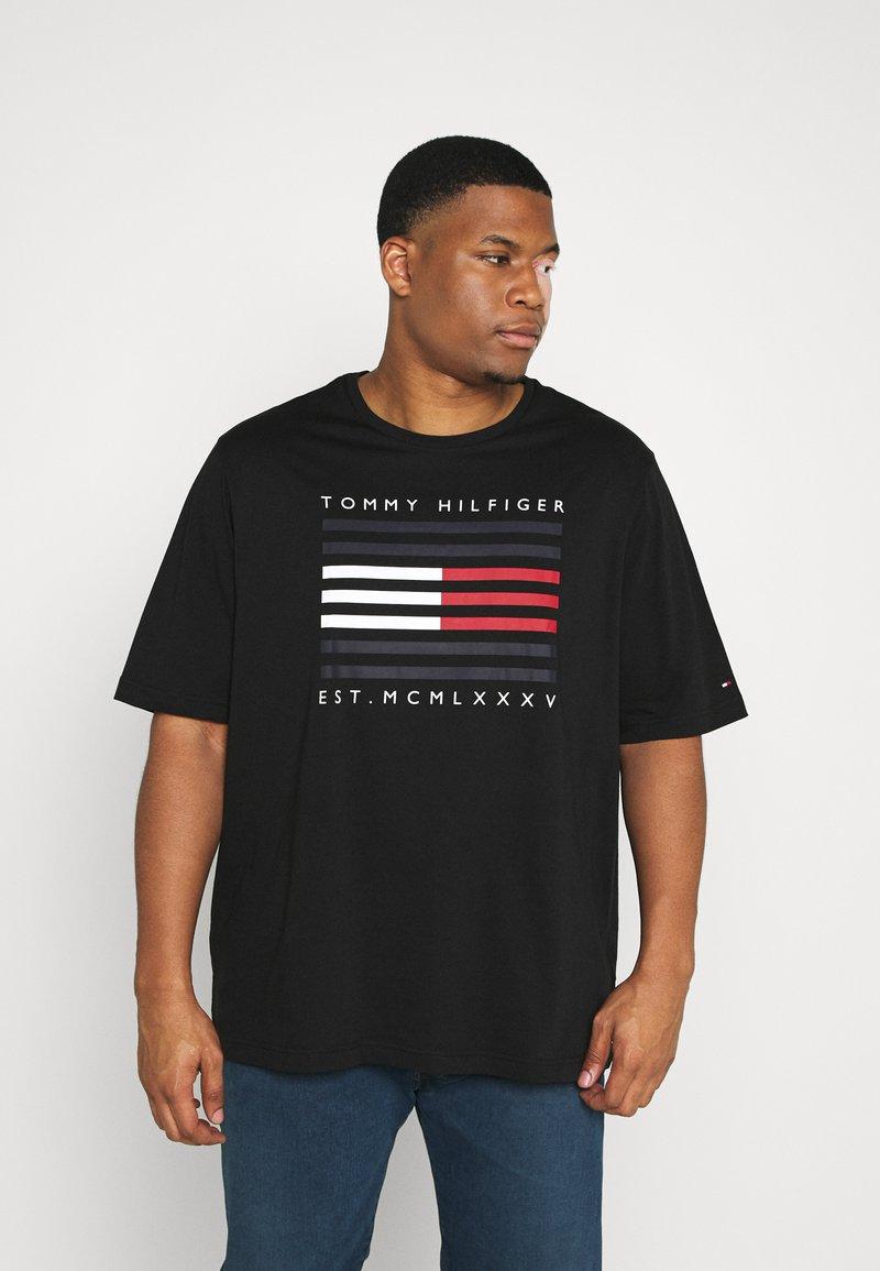 Tommy Hilfiger - Print T-shirt - black