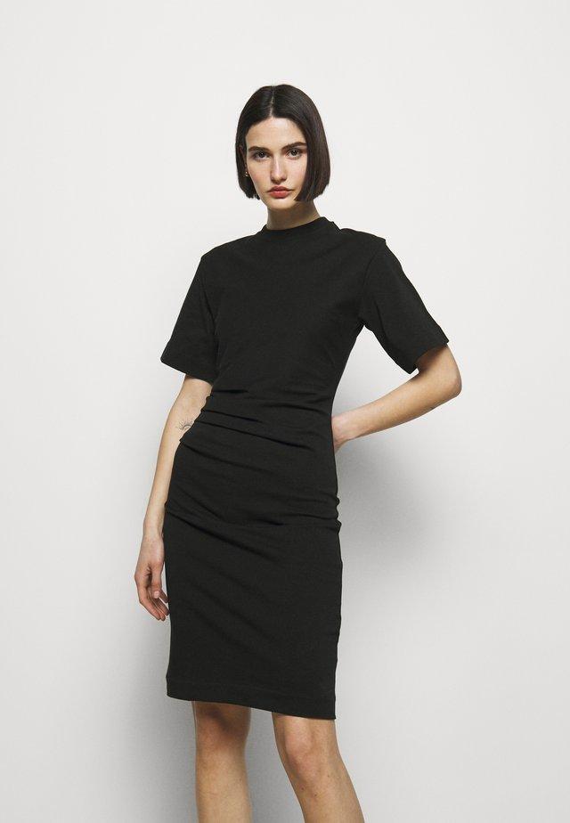 IZLY - Sukienka z dżerseju - black