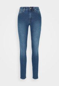 PCPEGGY  - Skinny džíny - medium blue denim