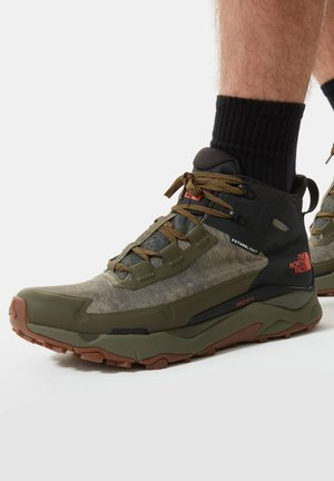 M VECTIV EXPLORIS MID FUTURELIGHT - Hiking shoes - mtryolvcldcmwshprnt/tnfbk