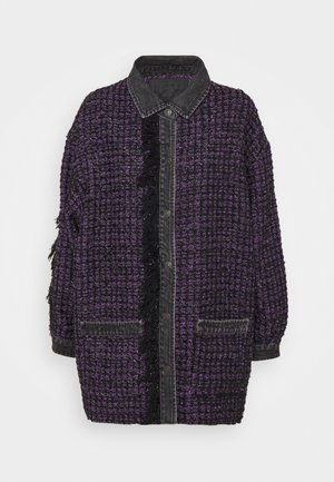 C-HELEN - Light jacket - black/purple