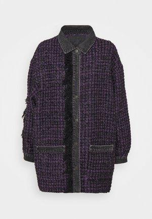 C-HELEN - Lehká bunda - black/purple