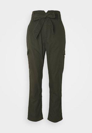 DRAPEY  - Trousers - hunter