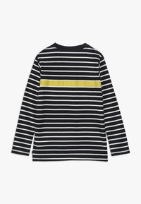 Scotch & Soda - LONG SLEEVE TEE WITH CONTRAST CHEST STRIPE - Long sleeved top - blue - 1