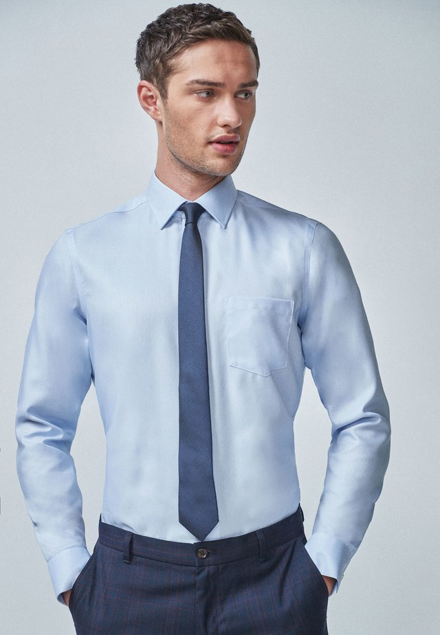 Formal shirt - mottled blue