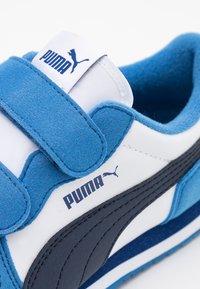 Puma - CABANA RACER  - Trainers - white/peacoat/star sapphire - 5