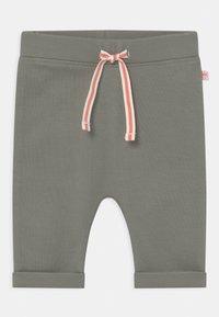 Staccato - SET - Trousers - off-white/khaki - 2