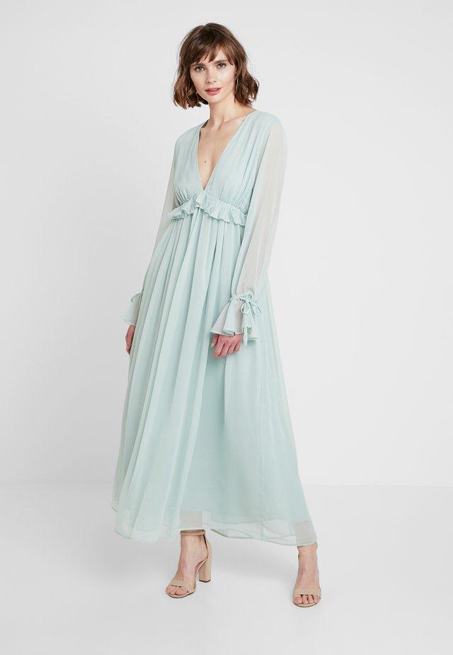 KAE SUTHERLAND DEEP V NECK DRESS - Vestito lungo - mint