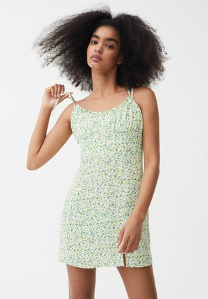 PRINTED MINI  - Robe d'été - green